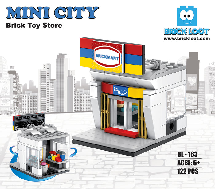 Mini City - Brickmart Brick Toy Store