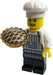Brick Loot Exclusive Brick Baker Custom LEGO® Minifigure LIMITED EDITION