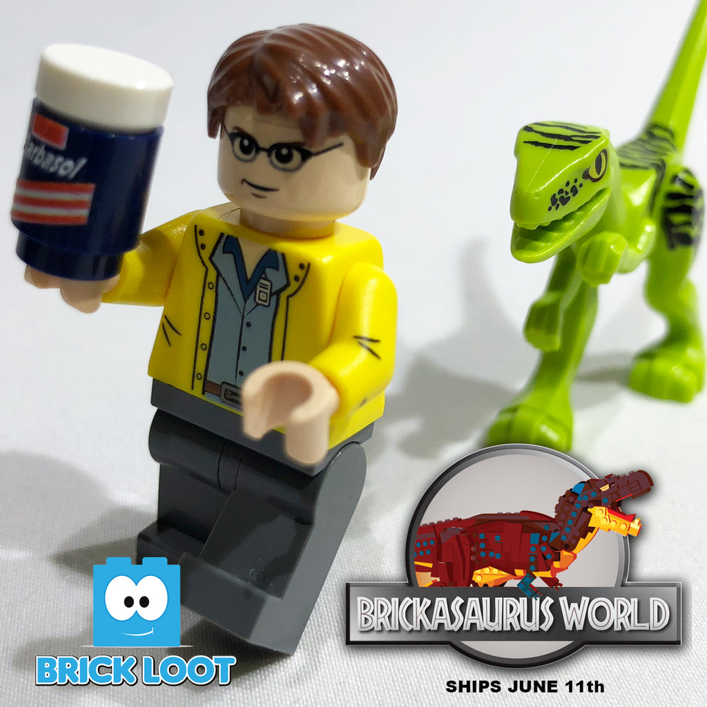 Brick-Loot-Exclusive-Dino-Smuggler-Custom-LEGO-Minifigure-Dinosaur-Not-Included