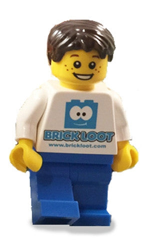Brick Loot Exclusive Custom LEGO Minifigure LIMITED EDITION #1