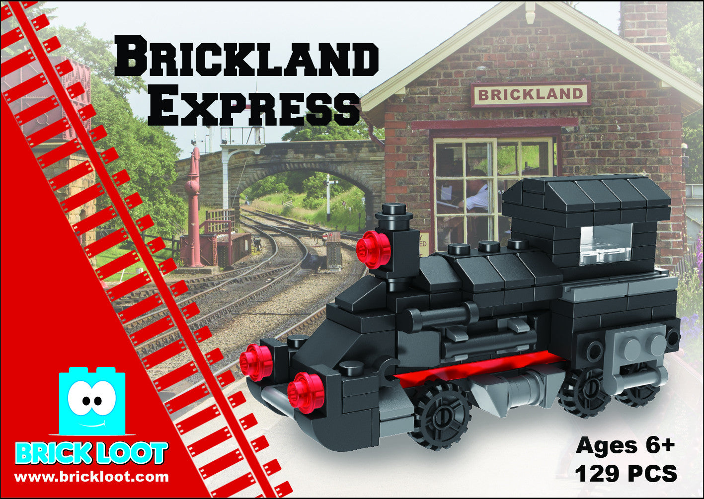 Brickland Express Train Set - Retail Boxed