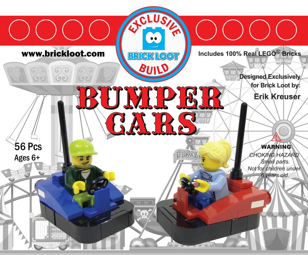 Exclusive-Brick-Loot-Build- Bumper-Cars-100%-LEGO-Bricks