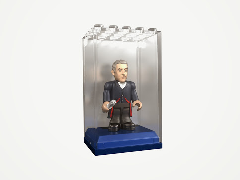 Doctor Who Series 4 Micro Figures In Display Brix Case - Blind Box