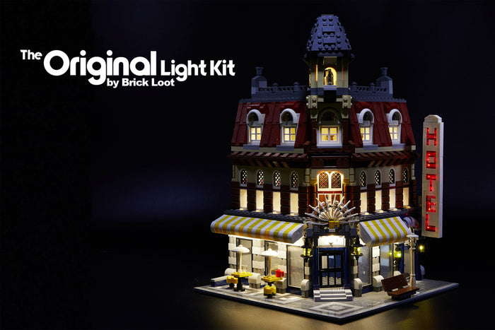 LED Lighting Kit for LEGO Café Corner 10182