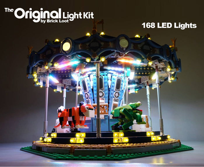 LED Lighting Kit for LEGO Carousel 10257