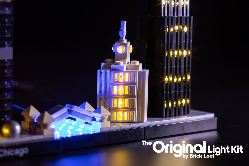 Brick-Loot-LED-Lighting-Kit-for-LEGO®-Architecture-Skyline-Collection-Chicago-21033