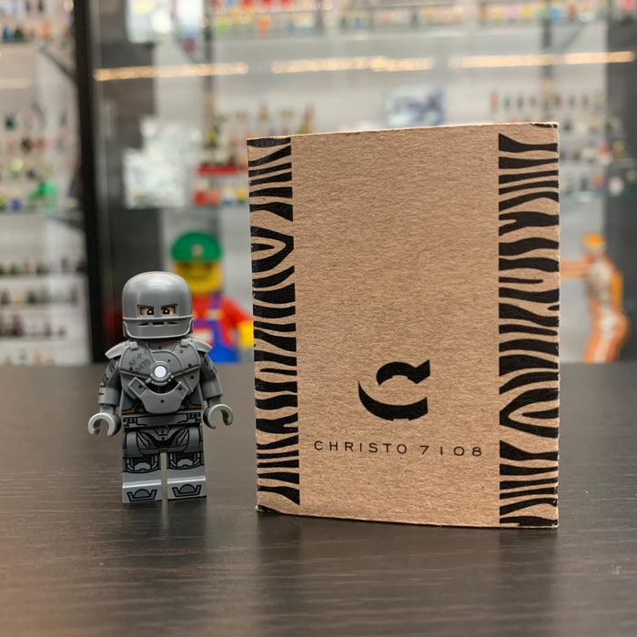 Christo Custom Pad Printed Iron Man mark 1 LEGO Minifigure - LIMITED EDITION