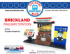 Exclusive Brick Loot Brickland Railway Station by BrickBuilders Pro - 100% LEGO