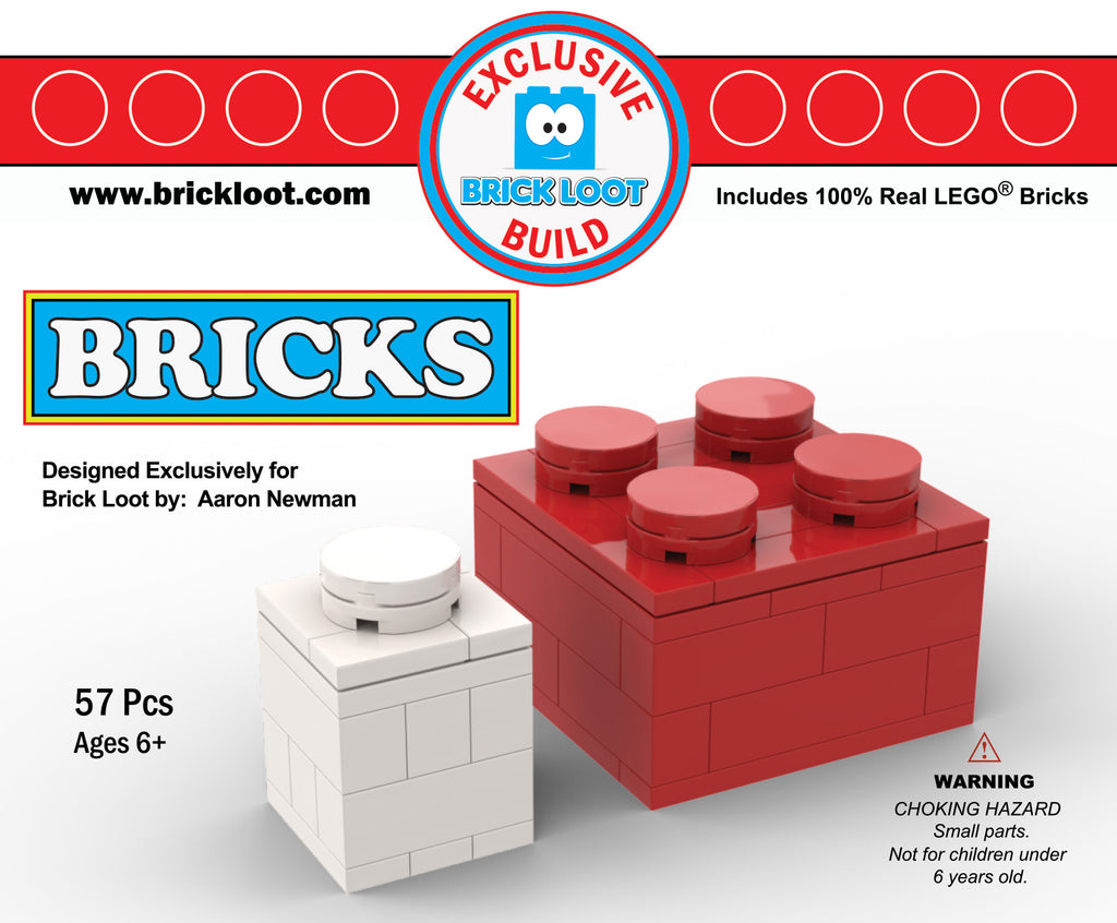Exclusive Brick Loot Build Bricks by Aaron Newman – 100% LEGO Bricks