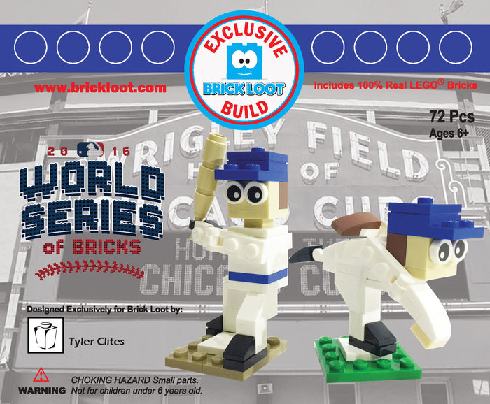 Exclusive Brick Loot World Series of Bricks Kit by Tyler Clites - 100% LEGO