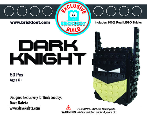 Exclusive Brick Loot Dark Knight by Dave Kaleta - 100% LEGO