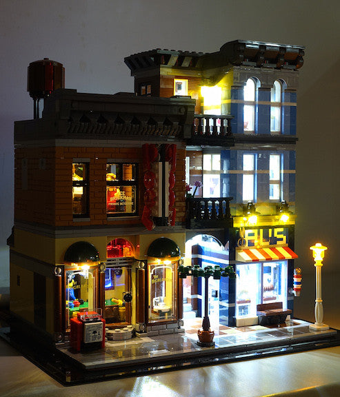 LED Lighting kit for LEGO® 10246 Detective's Office LED Lighting Kit - Amazing!