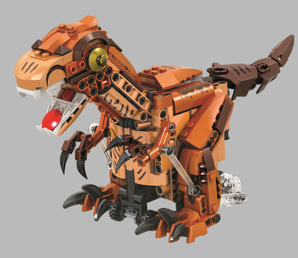 Dinosaur Electric Brick Building Set with Motor set 1140 STEM Activity offered by Brick Loot