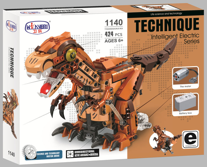 Dinosaur Electric Building Set with Motor set 1140