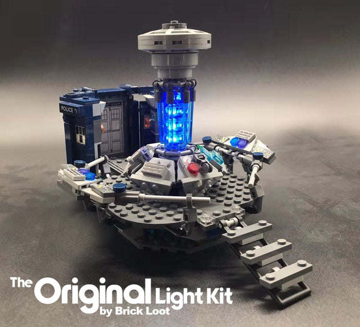LED Lighting kit for LEGO® Doctor Who set 21304
