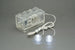 LED Double Clear White LEGO Studs with 2x4 Battery Brick