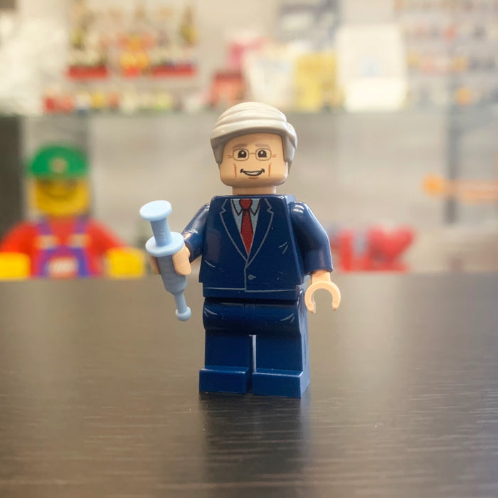Dr. Fauci Custom Printed Minifigure on genuine LEGO® Parts LIMITED EDITION