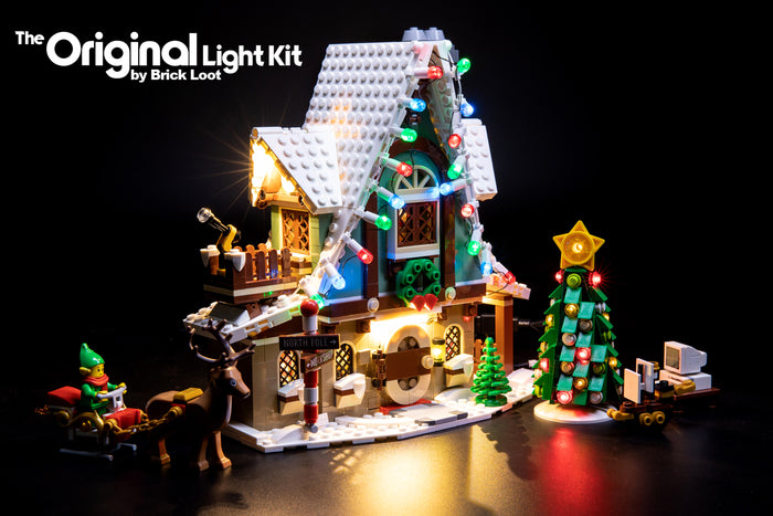 LED Lighting Kit for LEGO Elf Club House set 10275