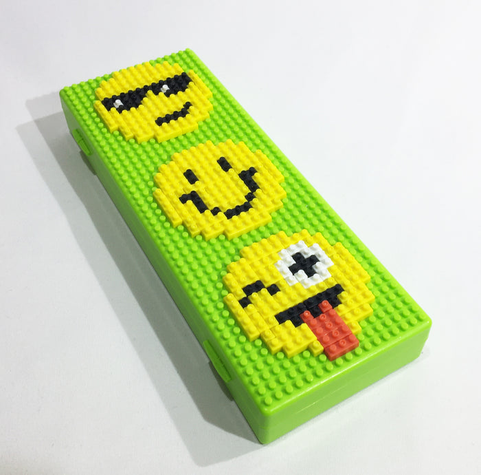 Brickmoji Build Pencil Case
