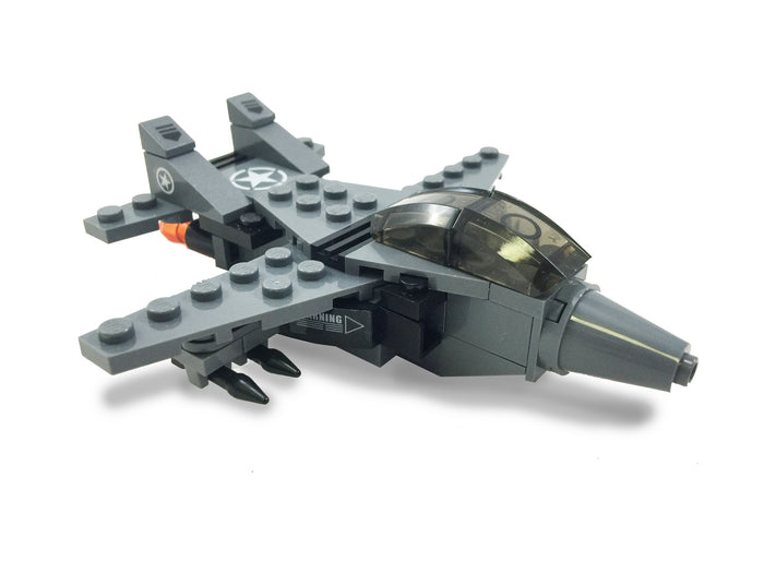 Brick-Loot-Exclusive-F-2-Fighter-Jet-Attack-Plane-100%-LEGO®-Compatible