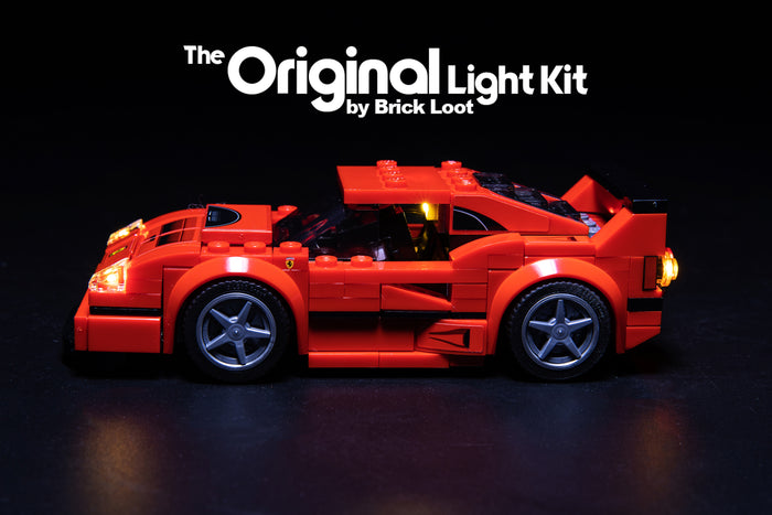 LED Lighting Kit for LEGO Ferrari F40 Competizione 75890