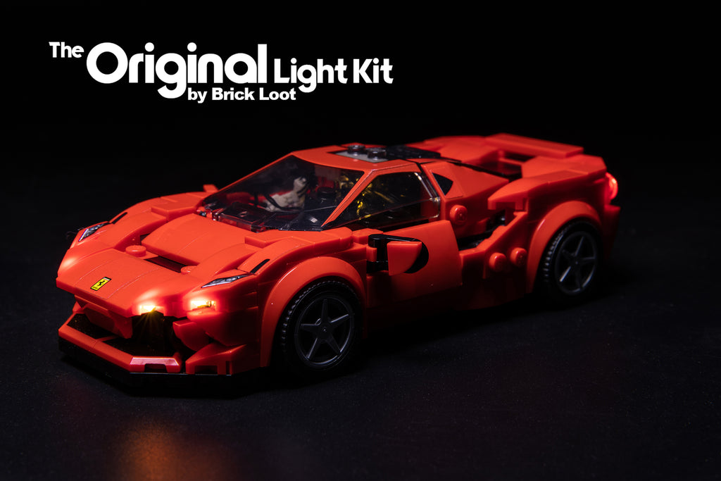 LED Lighting Kit for LEGO Ferrari F8 Tributo 76895