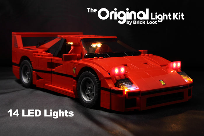 LED Lighting kit for LEGO® 10248 Ferrari F40 Lighting Kit - USB