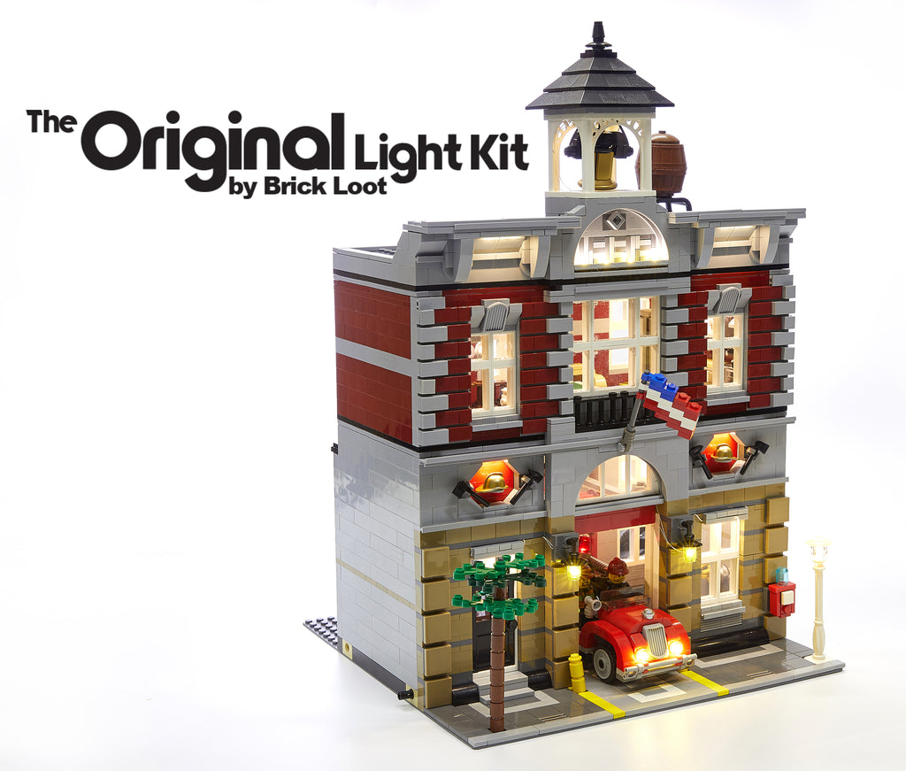 LED Lighting Kit for LEGO Fire Brigade 10197