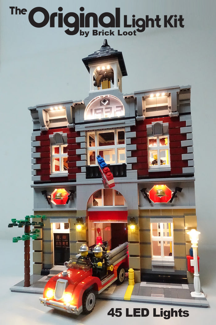 LED Lighting kit for LEGO 10197 Fire Brigade