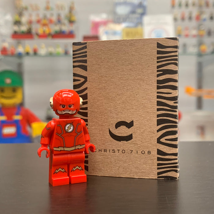Christo Custom Pad Printed Flash LEGO Minifigure - LIMITED EDITION