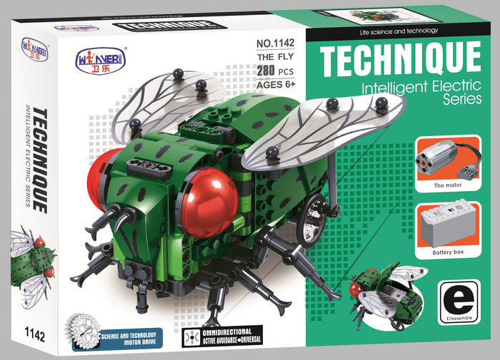 Fly Electric Building Set with Motor set 1142