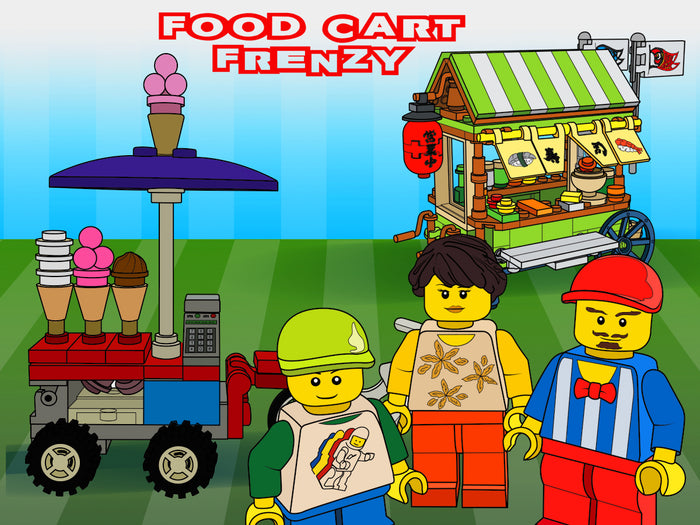 Brick Loot Box  - Food Cart Frenzy