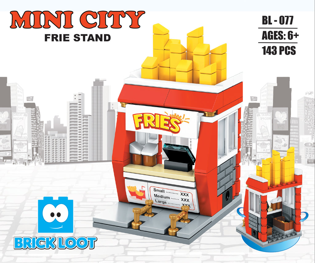 Brick-Loot-Custom-Brick-Set-Frie-Stand