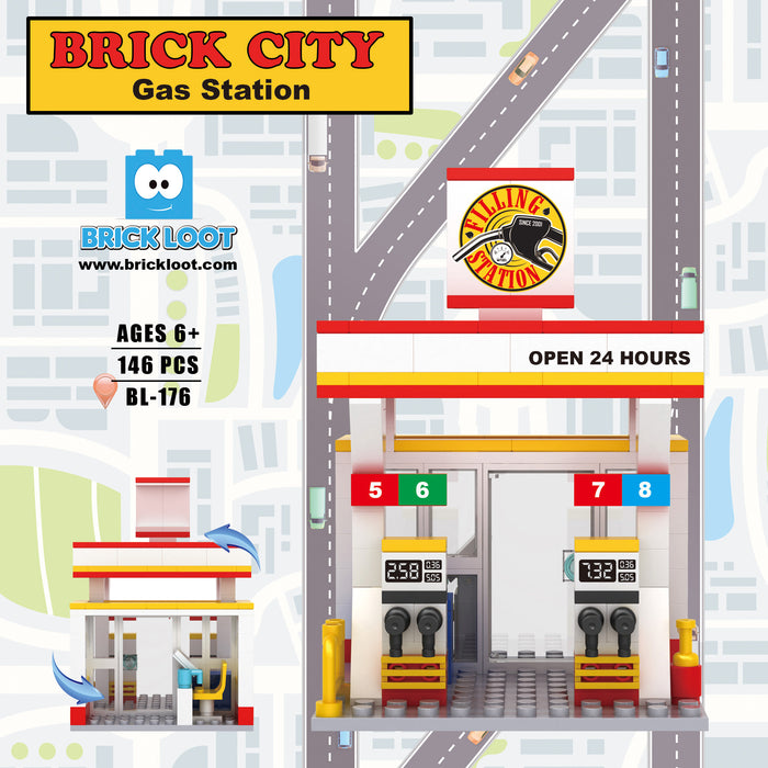 Mini City - Brick City Gas Station