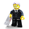 Brick Loot Exclusive Writer of the Galaxy Custom LEGO® Minifigure LIMITED EDITION