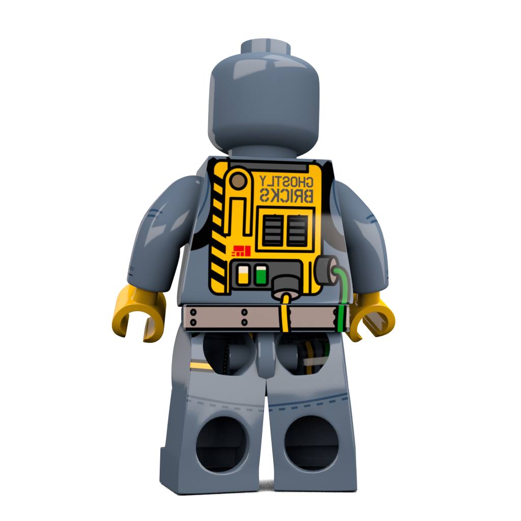 Brick-Loot-Exclusive-Ghost-Hunter-Custom-LEGO-Minifigure