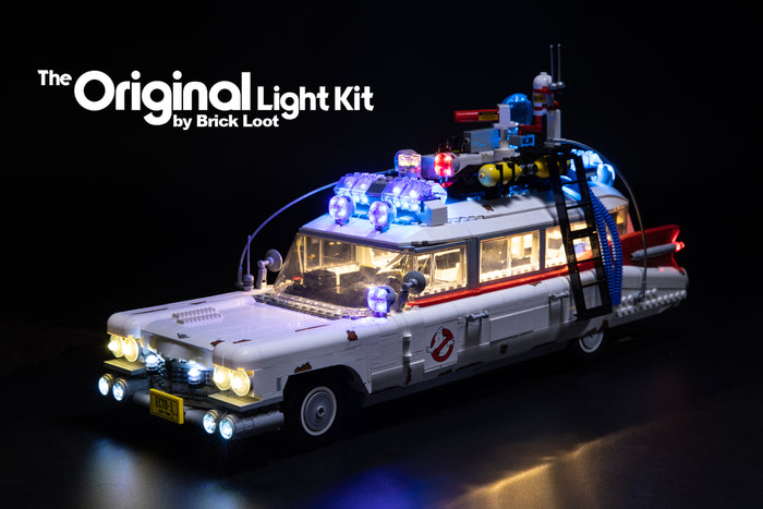 LED Lighting Kit for LEGO CREATOR Ghostbusters™ Ecto-1 10274