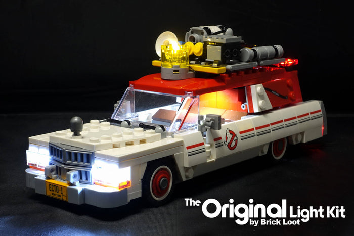 LED Lighting Kit for LEGO Ghostbusters™ Ecto - 1 & 2 (Second Movie Version) 75828