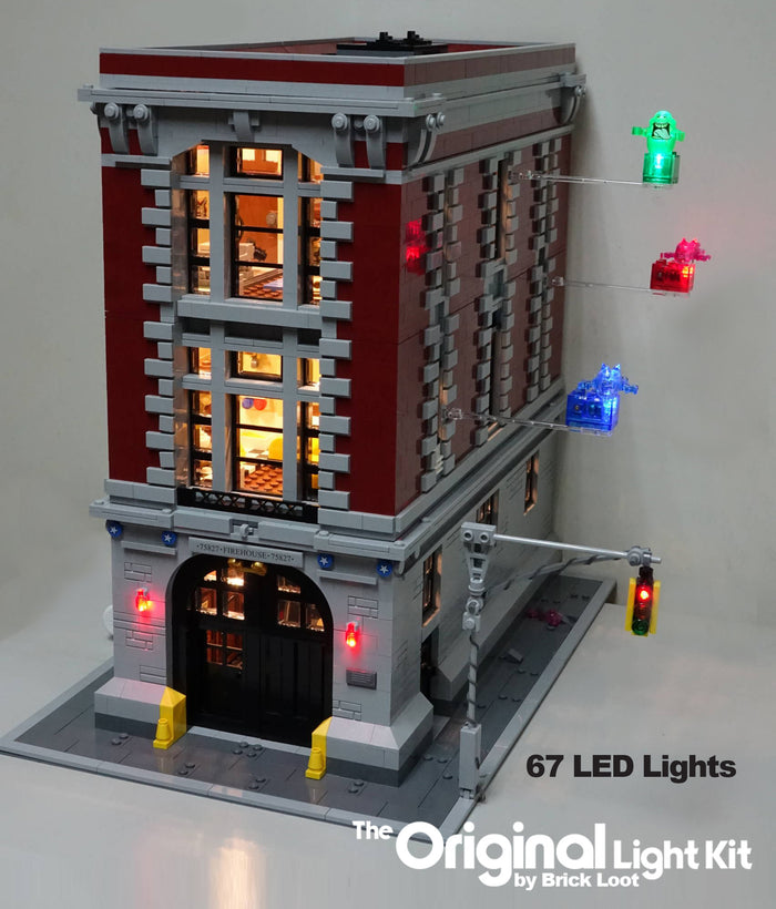 LED Lighting kit for LEGO® Ghostbusters Firehouse Headquarters 75827