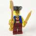 Brick Loot Exclusive LEGO Minifigure and GOLD Pack Weapons (sold separately)