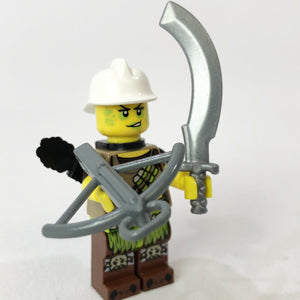 Brick Loot Exclusive LEGO Minifigure and LEGO Compatible Minifigure Weapons (sold separately)