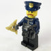 Brick Loot Exclusive LEGO Minifigure and GOLD Pack LEGO Compatible Minifigure Weapons (sold separately)