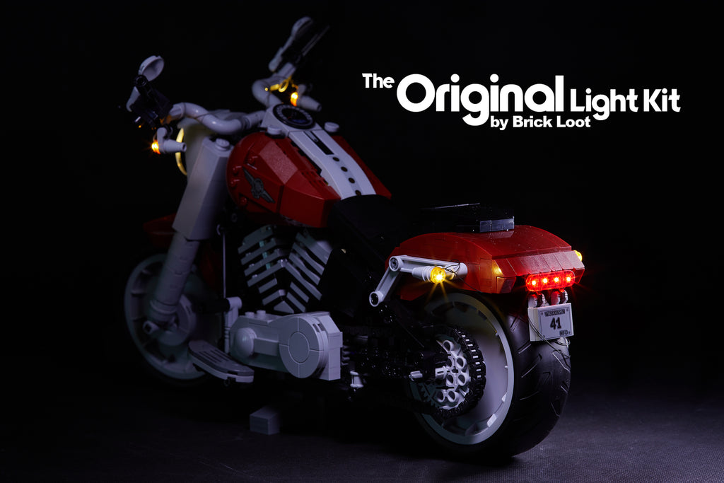 Led Lighting Kit For Lego Harley Davidson Fat Boy