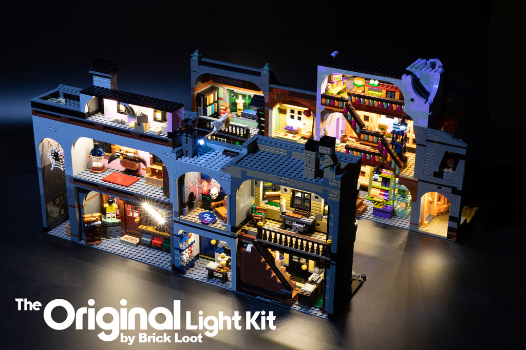 LED Lighting Kit for LEGO Harry Potter Diagon Alley 75978