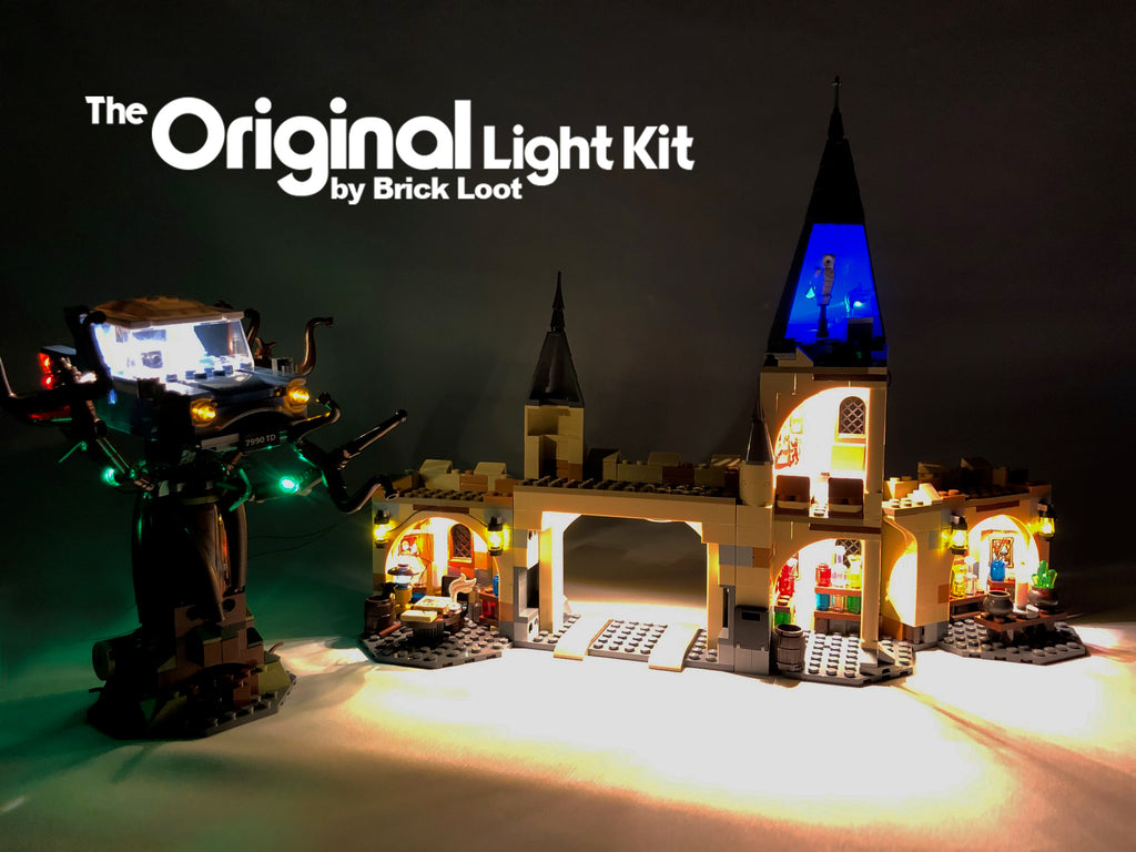 LED Lighting Kit for LEGO Harry Potter Hogwarts Great Hall 75954