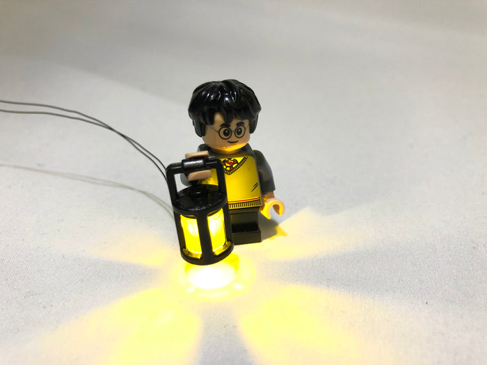 Brick Loot LED Lantern for Harry Potter, powered through USB (minifigure not included)