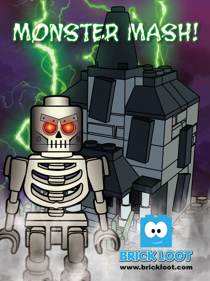 October 2017 Brick Loot Box  - Monster Mash