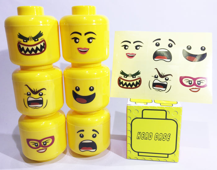 Head Case Party Favor Packages