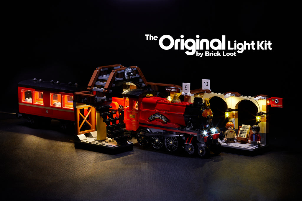 LED Lighting Kit for LEGO Harry Potter Hogwarts Express 75955