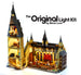 LEGO Hogwarts Great Hall set 75954, with the Brick Loot LED Light Kit.